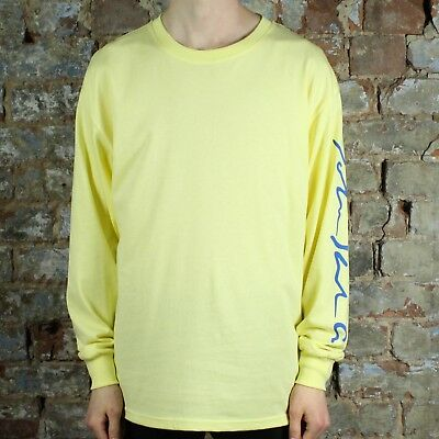 bf3c85f4 Polar Signature Long Sleeve T-Shirt Tee in Yellow in size S,M,L | eBay