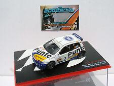 FIAT PUNTO S1600 #3 VALLEJO RALLYE LLANES 2002 1/43 ALTAYA