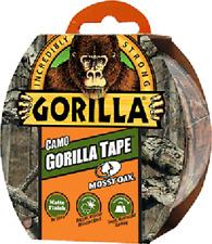 """Gorilla Tape Camo 1.88""""x9yd Roll,Mossy Oak® Break-Up Country™ Pattern, Matte"""