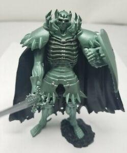"""Berserk 4"""" ART OF WAR - Figure Skull Knight - Green -"""