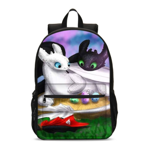 How to Train Your Dragon Big Backpack Insulated Lunch Box Sling Bag Pen Case Lot