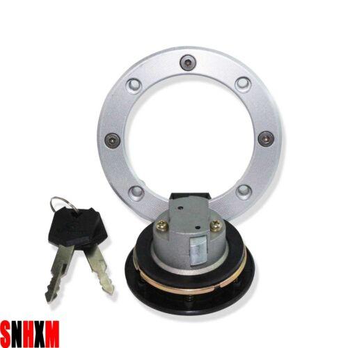 Gas Tank Cap Cover Lock For Suzuki Marauder VZ800 1997-2004 GSX 600 700 98-2006