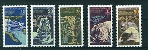 East-Germany-1977-Natural-Phenomena-full-set-of-stamps-Mint-Sg-E1918-1922