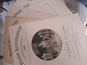 Important-lot-de-80-revues-034-La-petite-Illustration-034-1926-39-cine-theatre-romans
