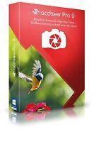 ACDSee Pro 9 Vollversion  ACD Systems Box deutsch CD/DVD + PDF Experte 8 auf CD