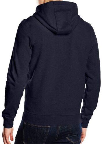 New Lyle /& Scott Men/'s Zip Through Hoodie Navy Size XS