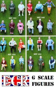 PACKS-OF-6-MEN-amp-WOMEN-G-SCALE-1-22-5-PEOPLE-FIGURES-GARDEN-TRACK-RAILWAY-TRAIN