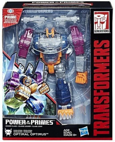 Transformers Power Of The Primes Leader Optimal Optimus Action Figure NEW