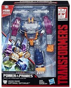 Transformers La Puissance Du Chef De Prime Optimal Optimus Figure D'action Nouveau