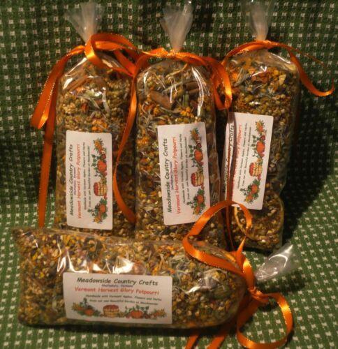 Homemade Vermont Harvest Glory Potpourri Apple Citrus Spice 5-Cup 7-8 oz bag