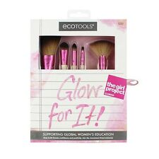 Ecotools: (1) Glow For It Makeup Brushes Concealer Lip Powder Authentic Sea;ed