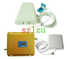 CDMA/GSM 900MHz WCDMA 2100MHz Dual-Band Repeater Cellphone Signal Booster 2G+3G