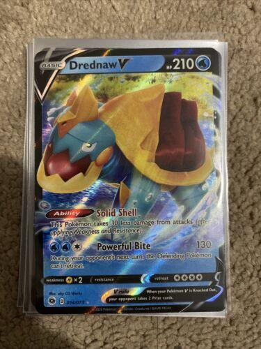 Drednaw V Champion/'s Path Ultra Rare Holo NM Pack Fresh 014//073 Pokemon