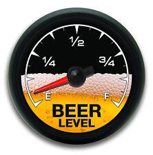 Beer Meter Gauge Vinyl Decal Sticker Funny Warning Cooler Race Car Off Road 4x4