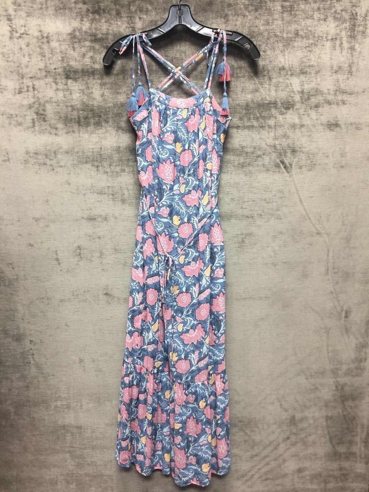 ANN TAYLOR LOFT Floral Maxi Dress Size XXS Petite BNWT  37.50