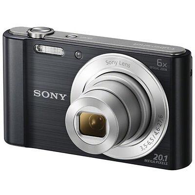 SONY Cyber-shot DSCW810B Compact Camera - Black