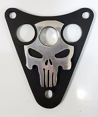 KAWASAKI  VN800 EN500LTD VULCAN CLASSIC DRIFTER Skull Dash Plaque Cover