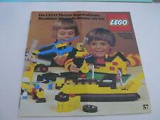 Lego catalogue de 1977 / catalog from 1977 ( 98761-D )