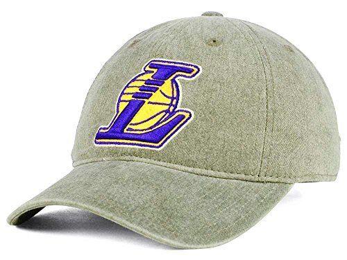 san francisco 06ab7 c7e34 Los Angeles La Lakers NBA Mitchell   Ness Blast Wash Slouch Strapback Hat  Cap for sale online   eBay