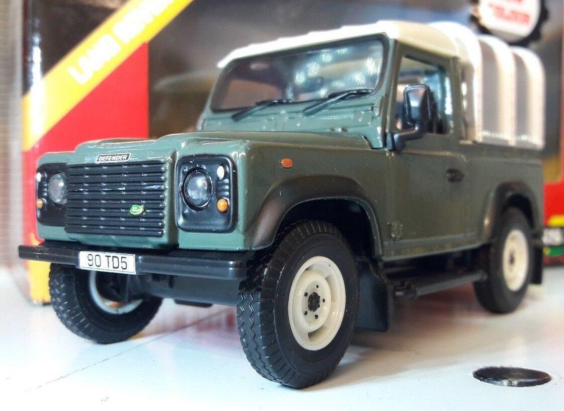 Land Rover Defender Tdi TD5 Tdci 90 Ifor Williams Arrière 1 3 2 Échelle Britains