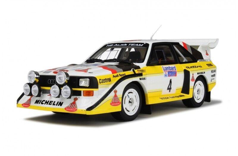 Audi s1 e2 Quattro Rallye WM RAC gb pdk 1985 Röhrl resin Otto ot617 1 18