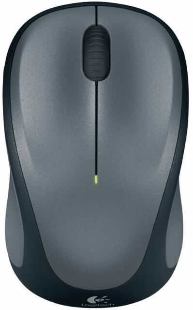NEW! Logitech M315 Wireless Optical Mouse - Grey (910-002515) with Nano Receiver