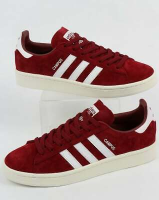 adidas Campus Trainers in Burgundy