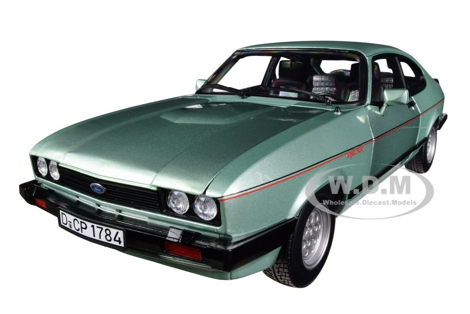 III 2,8 Injection 1982 Crystal Green Metallic 1:18 Norev Ford Capri Mk