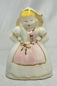 VINTAGE SHAWNEE POTTERY ANGRY DUTCH GIRL PLANTER