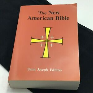 The-New-American-Bible-St-Joseph-Edition-Catholic-Conference-Christian-Doctrine