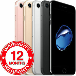 Apple iPhone 7 32GB 128GB 256GB Ohne Simlock Smartphone - ORIGINAL NEU | DE-Ware