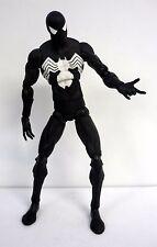"""SPIDER-MAN BLACK COSTUME Marvel Legends Toy Biz 12"""" Action Figure COMPLETE 2006"""