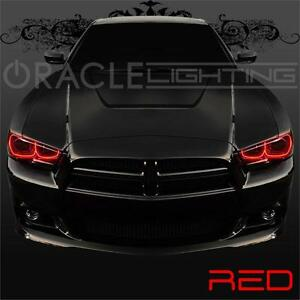 image is loading 2011 2014 dodge charger oracle led headlight halo - Dodge Charger 2014 Red