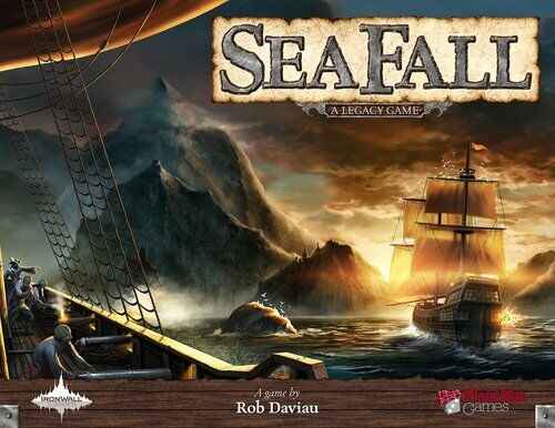 Seafall  A Legacy Game - Board Game - Brand New - Free Shipping