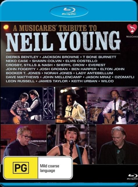 Neil Young, Tribute To (Blu-ray, 2011)
