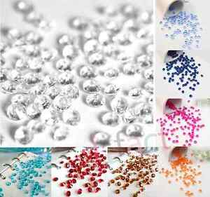 2000pcs 4.5mm Wedding Party Decoration Crystals Diamond Table Confetti Supplies