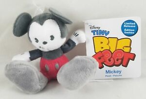 New Disney Store Mickey Tiny Big Feet Plush Collection Micro 4 Toy