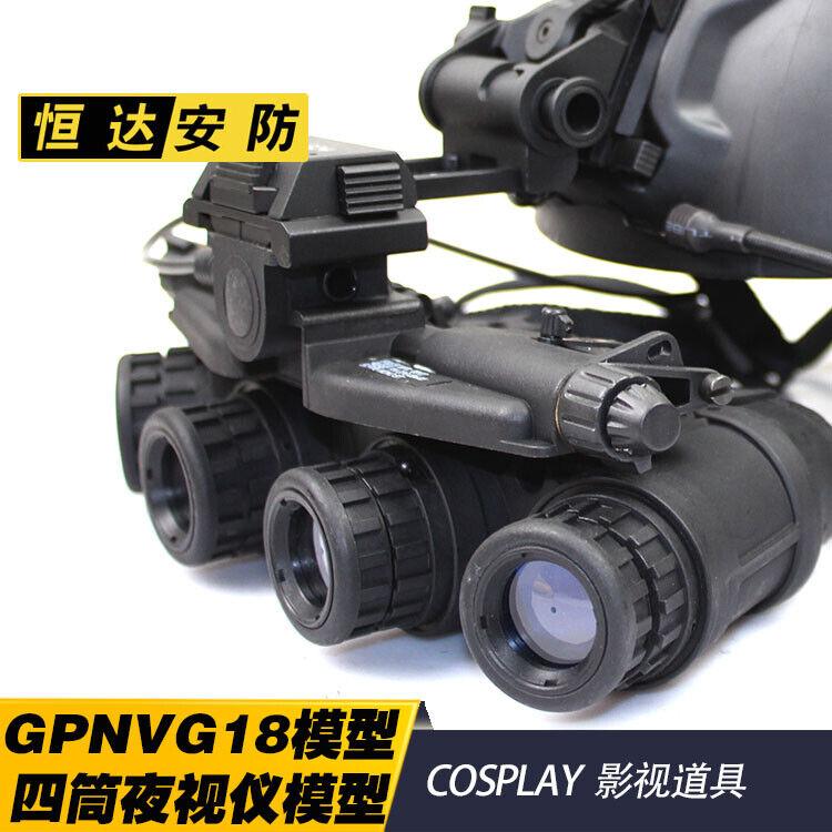 Modelo táctico DUMMY NVG gpnvg 18 gafas de visión nocturna & L4G24 L4G19 Montaje Casco