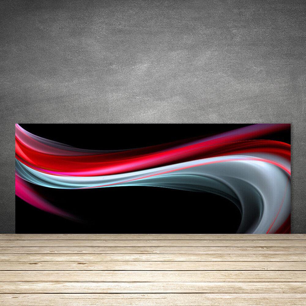 Crédence de cuisine cuisine cuisine en verre Panneau 125x50 Art Abstraction fe5ae9