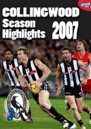 1 of 1 - AFL -  2007 Season Highlights - Collingwood (DVD, 2007)