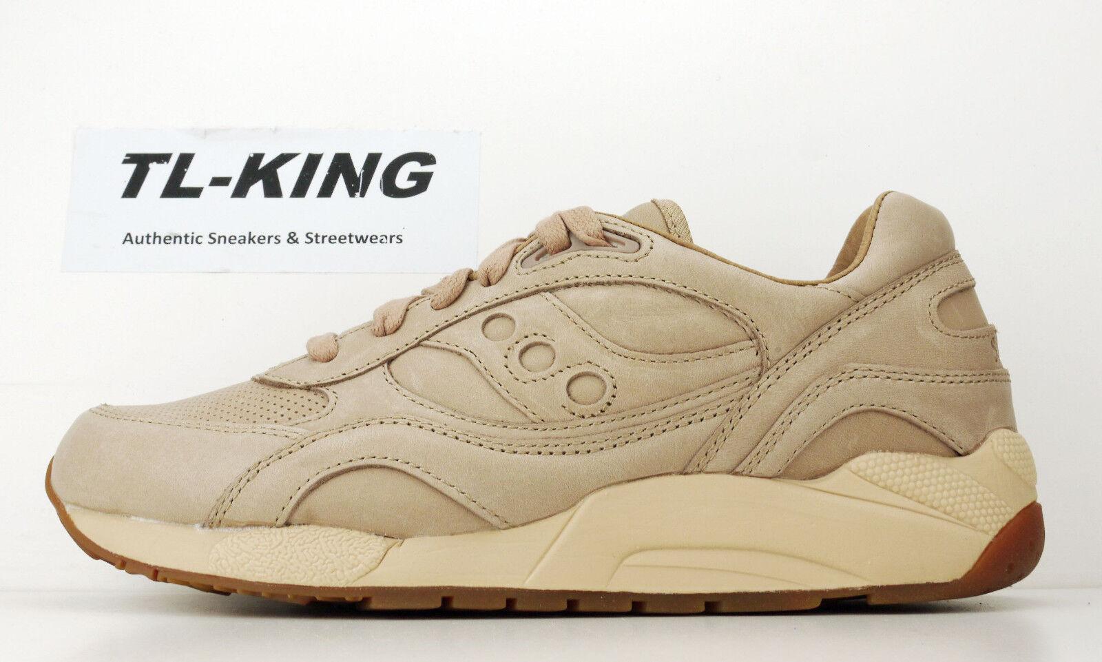 Saucony Originals G9 Shadow 6 Premium 6000 Veg Tan Pack S70314-1 S70314-1 Pack Msrp  120 Hy 85e114