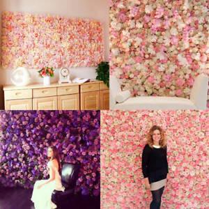 Rose Flower Wall Panels Hanging
