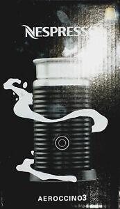 Nespresso-Aeroccino-3-elektrischer-Milchaufschaumer-schwarz-Neu-amp-OVP
