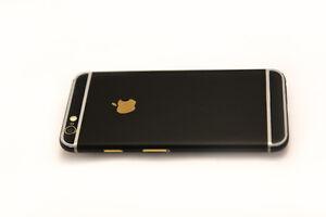 timeless design 8fdb1 c680d Details about iPhone 6 / 6S Plus Matte Black Skin Premium Quality APPLE 3M  Scotchprint 1080