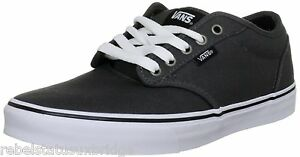 Uk 6 Atwood Vans skate Shoes Vulcanized Boy's de Charcoal Vkc44wc 3 Zapatillas 68wq48vnH
