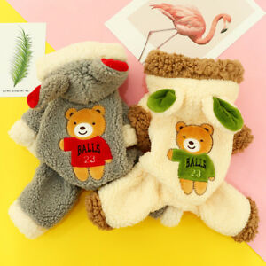 Bear-Costume-Thicken-Small-Pet-Dog-Clothes-Jumpsuit-Winter-Puppy-Apparel-Jacket