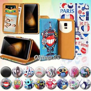 Details about For Various XGODY Y Series Phones - Leather Wallet Card Stand  Flip Case Cover