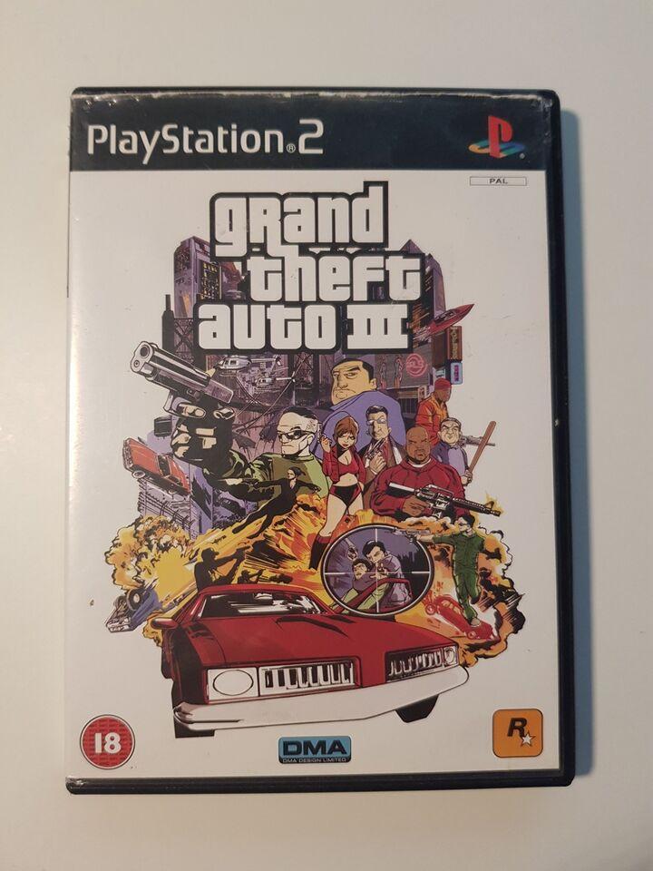 GTA 3, PS2