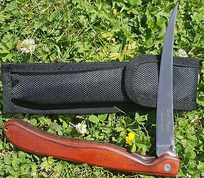 FäHig Filetiermesser D Extraklasse Fjord Premium Klappbar Jagd Norwegen Geschenk