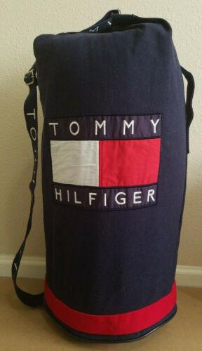 """90's Vintage Mens TOMMY HILFIGER Big Logo 24""""x12"""""""